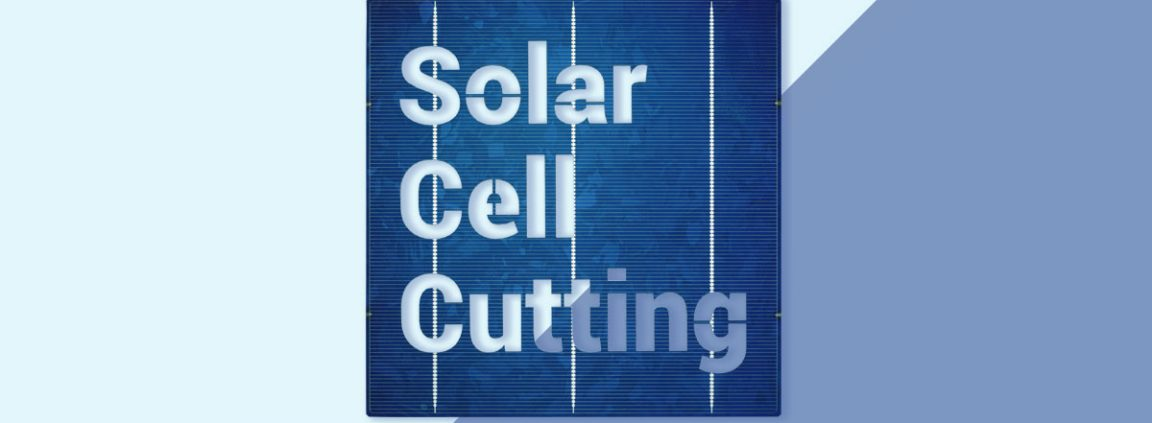Solar cell cutting. Metsolar