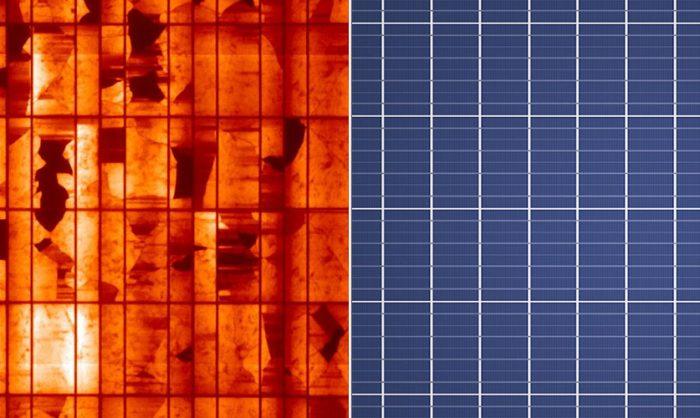 Solar panel quality assurance. Metsolar