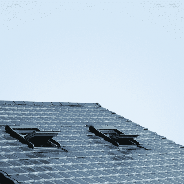 Solar roof tile from Metsolar. Custom made solar panels - various shapes, size, power options available