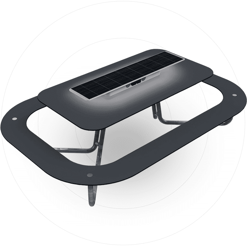 Solar table. Metsolar