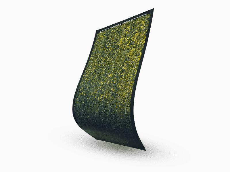 MET Flexible solar module Metsolar