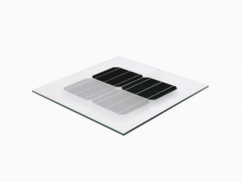 MET Glass-glass solar module Metsolar BIPV