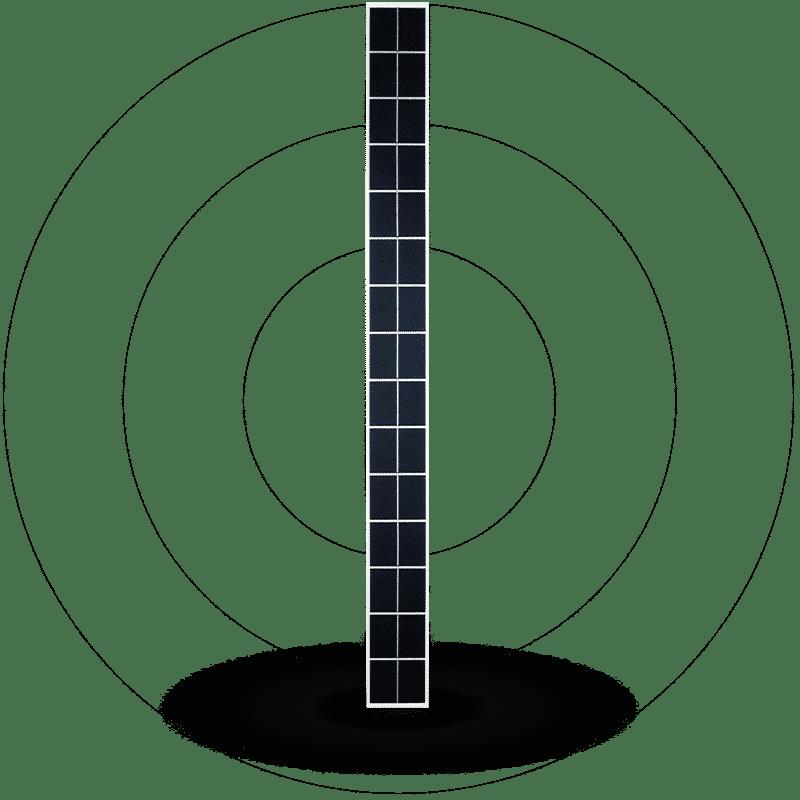 Metsolar - Custom solar panels for Street lighting solutions, custom made PV module, custom solar module, custom solar panel