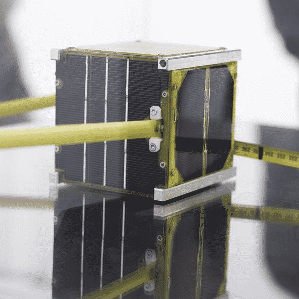 Solar panels for first Lithuanian satellite visited space