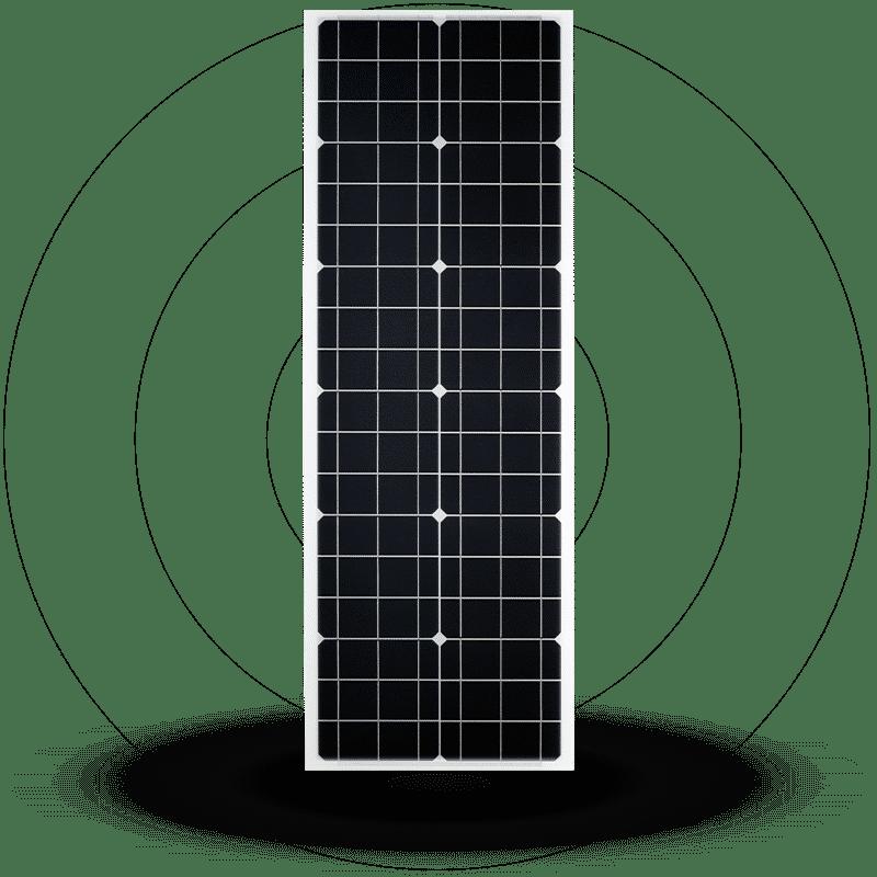Metsolar - Street lighting solutions, custom made PV module, custom solar module, custom solar panel Sunna design
