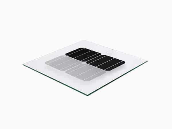 Glass/glass solar module from Metsolar EU custom made panel manufacturer